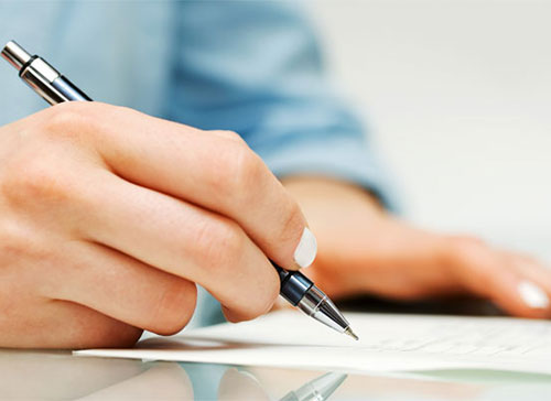 We offer content writing services to our web design clients.